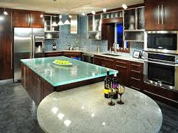 glass top kitchen island 13 best glass countertops images on glass countertops