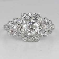 art deco circa 1920 u0027s engagement ring 9215