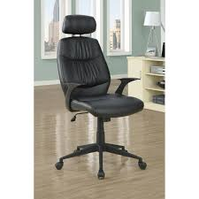Overstock Leather Chair Black U0027retro Style U0027 Leather Look Office Chair Free Shipping