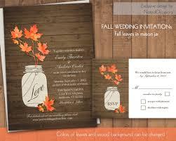 fall wedding invitations 50 fall wedding invitations