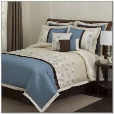 aqua blue and brown bedding sets beds home design ideas