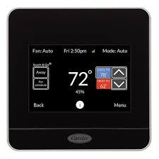 carrier cor 7 day programmable wi fi thermostat with energy