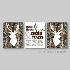 Baby Deer Nursery Baby Boy Nursery Art Print Boy Nursery Decor Baby Camo