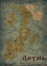 Fantasy World Map by Fantasy World Map World Of God Ileysia By Lifegamersde On