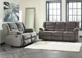 Gray Recliner Sofa Central Furniture Mart Tulen Gray Reclining Sofa Loveseat
