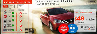 nissan sentra lease 0 down new vehicle promotions morningside nissan