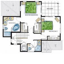 second floor plans cayman paradise villa