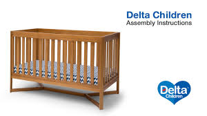 Tribeca Convertible Crib Delta Children Tribeca 4 In 1 Cot Assembly