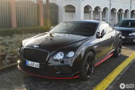 bentley continental gt speed black edition 2016 29 january 2017