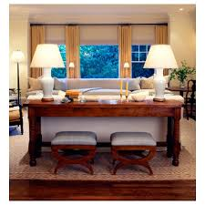 Decorating A Sofa Table Sofa Table Decor Inside Inspirational For Your Living Room Plan