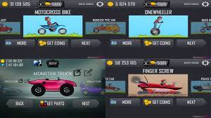 hill climb racing monster truck hill climb racing monster truck vs motocross bike vs onewheeler vs