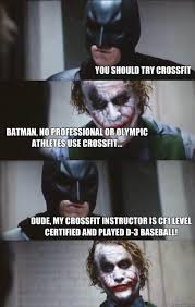 Funny Crossfit Memes - crossfit memes on twitter athletes train crossfitters