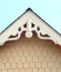 simple decorative gable trim 135 gb822 late