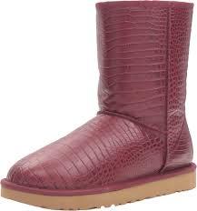 uggs sale womens size 11 amazon com ugg s croco boot mid calf