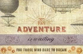 design a vintage steampunk style postcard design cuts