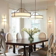 casual dining room lighting long wooden dining table elegant white