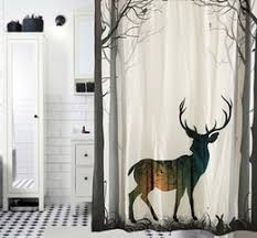 Whitetail Deer Shower Curtain Discount Deer Curtains 2017 Deer Curtains On Sale At Dhgate Com