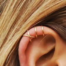 conch piercing cuff set of 2 ear cuffs ear cuff ear cuff and