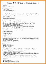Resume Sample Driver Position by Garbage Truck Driver Resume Examples Virtren Com