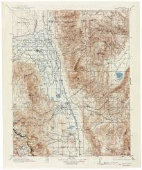 Zip Code Map Fresno Ca by Map Of Bishop California California Map