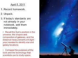 1 Light Second In Kilometers April 5 Record Homework 2 Unpack 3 If Today U0027s Standards Are Not