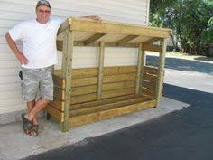 Plans To Build Wood Storage - 2x8 firewood storage shed plans shedking net backyard ideas