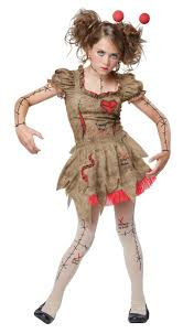 halloween dolly voodoo dolly child costume buycostumes com