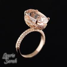 lively wedding band our lively inspired 7 carat morganite engagement ring with