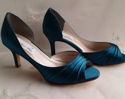 wedding shoes etsy blue wedding shoes blue bridal shoes with imported