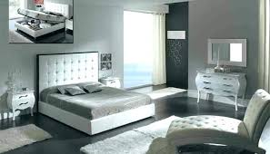 white leather bedroom sets faux leather bedroom furniture azure black faux white faux leather