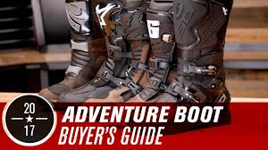 mc boots best adv dual sport motorcycle boots 2017 youtube