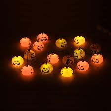 pumpkin lamp wonderful jack o lantern lights excellent led string
