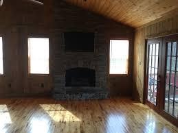 Log Cabin Floors by Keaton Falls Cabin