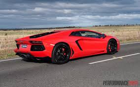 lamborghini back 2015 lamborghini aventador lp700 4 review video performancedrive