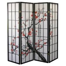 japanese folding screen room divider unique home store