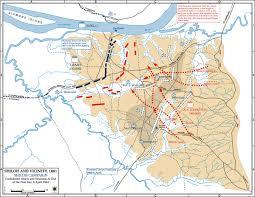 Fort Bragg Map Albert Sidney Johnston Battle Of Shiloh Wikipedia Battles Of The