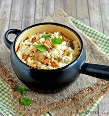 cuisiner le tofu nature risotto aux chignons et tofu les meilleures recettes de cuisine