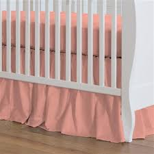 crib skirts dust ruffles for cribs carousel designs all