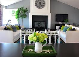 natural green color schemes with neutral tones for modern interior