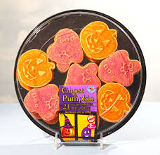 halloween pumpkin ghost sugar cookies 24 24pack platter orbit nafta
