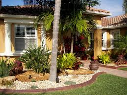 tropical landscaping ideas for front yard nice tropical