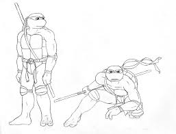 donatello coloring pages
