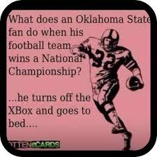 Oklahoma State Memes - 25 ide terbaik tentang sooner sports di pinterest paku sepatu