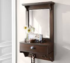 Narrow Entryway Cabinet Classic Entryway Mirror Organizer Small Pottery Barn