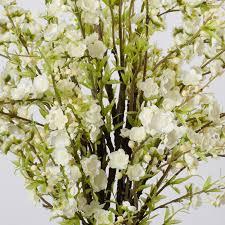 silk floral arrangements bloomsbury market cherry blossoms with vase silk floral