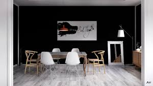Black And White Dining Room Chairs by Scandinavian Dining Room Design Ideas U0026 Inspiration