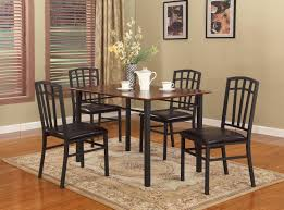 chair an alluring metal dining room set with long rectangular