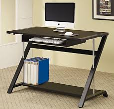 Cheap Black Computer Desk Furniture Modern Home Office Design With Minimalist Computer Desk