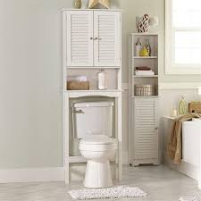 Bathroom Pedestal Sink Storage Cabinet by Bamboo Over The Toilet Shelves Cabinet