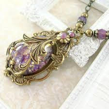 victorian necklace styles images Best victorian amethyst necklace products on wanelo jpg